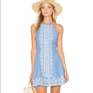 "Tularosa ""Otto"" Dress in Chambray"